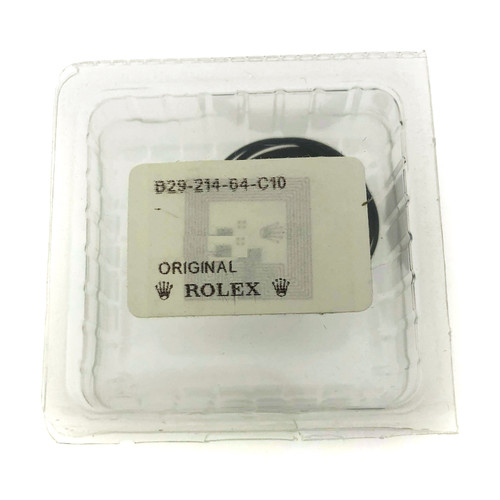 Rolex case back gasket