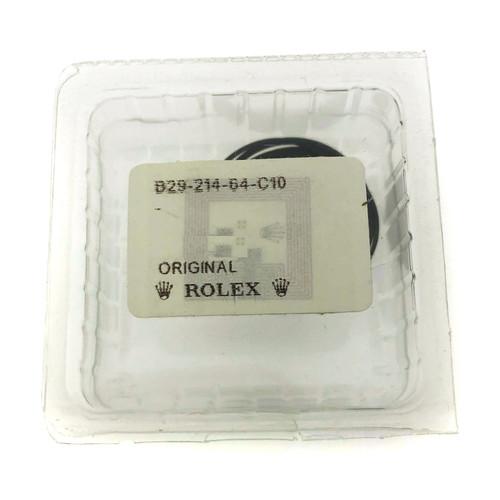 Rolex case back gasket