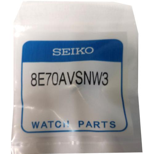 Seiko V175-0AD0 crown blue