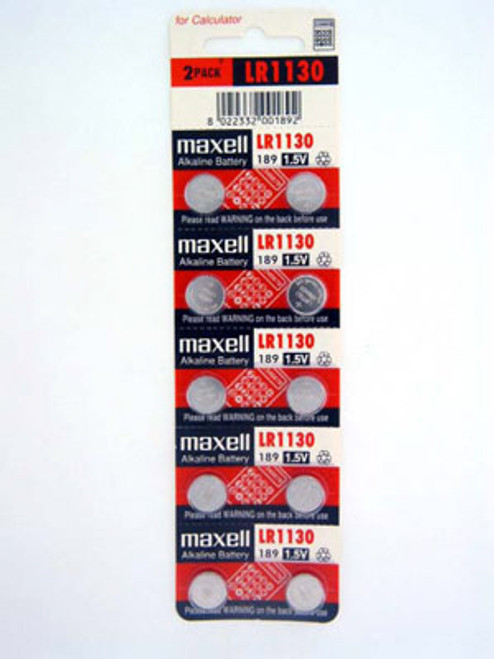Maxell LR1130 Battery - Main