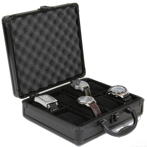 8 Watch Storage Box Aluminum - Main