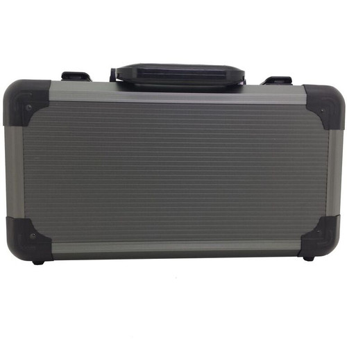 Watch Storage Case Aluminum Metal Briefcase for 12 Large Watches