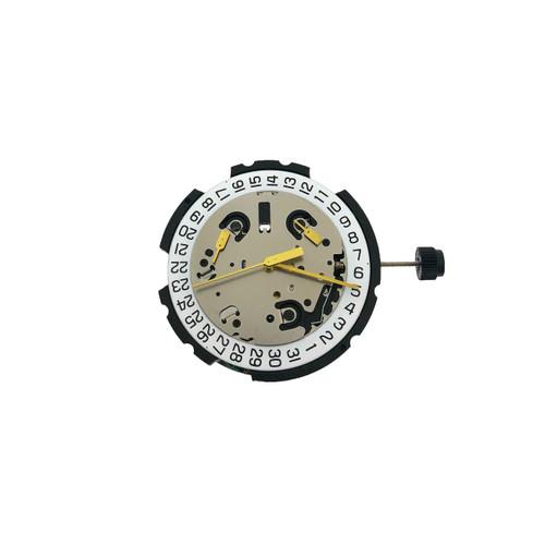 ETA G10.211 | 3H Date at 4 Quartz Watch Movement | ETAMOVG10.211 @4 | Front