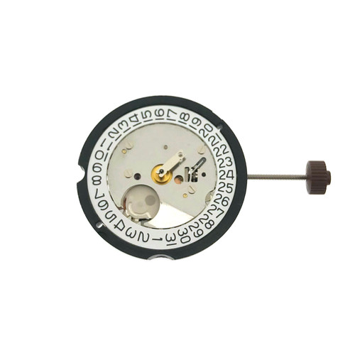 Harley Ronda 505 Date at 3 Watch Movement | Front