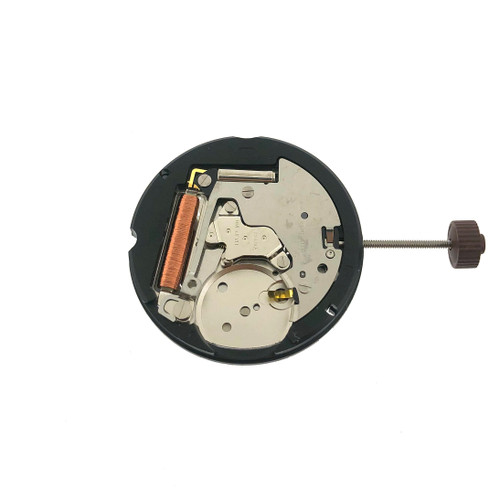 Harley Ronda 505 Date at 3 Watch Movement | Back