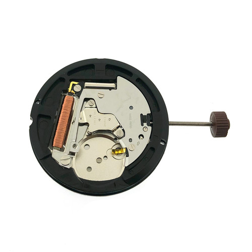 Harley Ronda 515 Date at 3 Watch Movement | Front