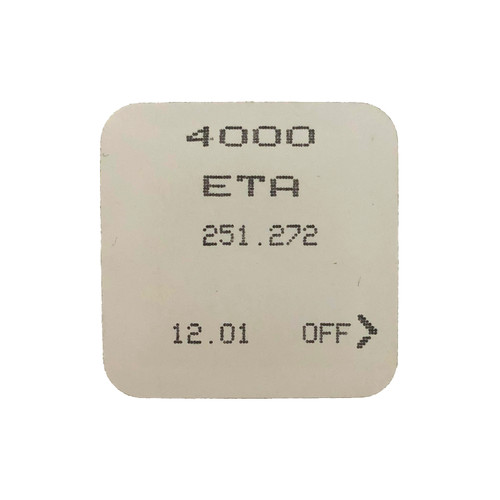 ETA 251.272 251.281 4000 Electronic Module Circuit Original  New Sealed