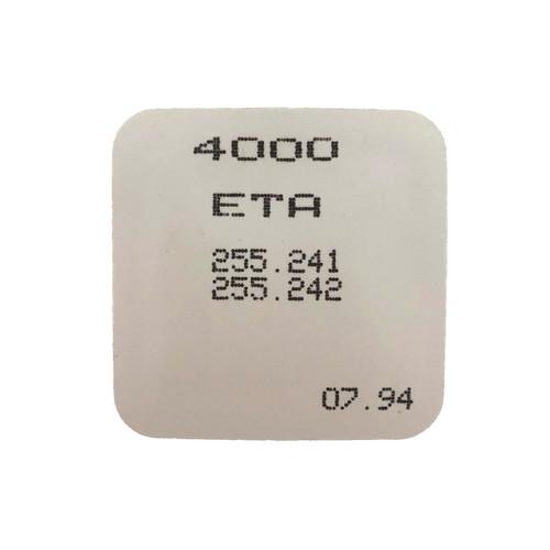 ETA 255.241 255.242 4000 Electronic Module Circuit Original  New Sealed