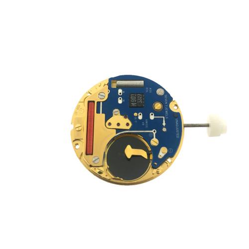 ETA 955 412 Gold Disk Quartz Watch Movement - Main