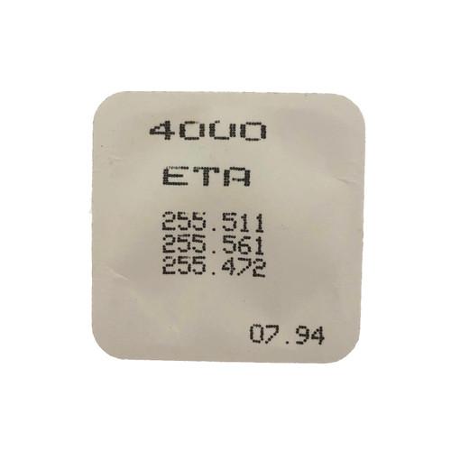 ETA 255.511 255.561 255.472 Circuit Board - Back