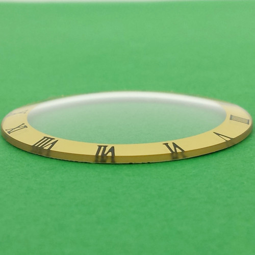watch crystal dome roman numbers