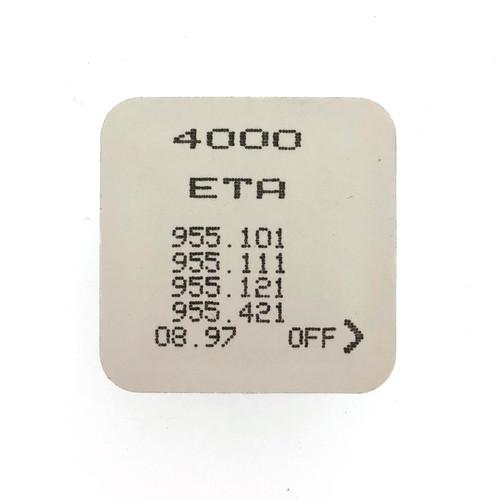 ETA 955.101, 955.111, 955.121, 955.122, 955.421 4000 Circuit Electronic Module Sealed - Vintage