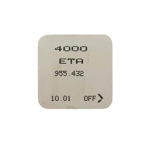 ETA 955.432 4000 Circuit Electronic Module Original  New Sealed
