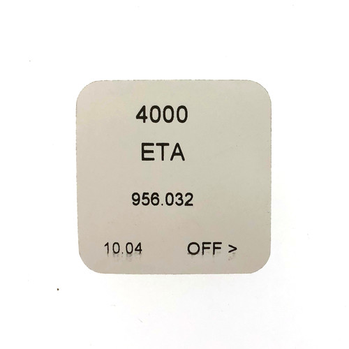 ETA 956.032, 956.042 4000 Circuit Electronic Module Original  New Sealed
