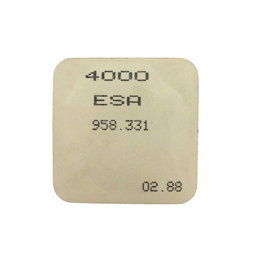 ESA 958.331 4000 Circuit Electronic Module Original  New Sealed - Vintage