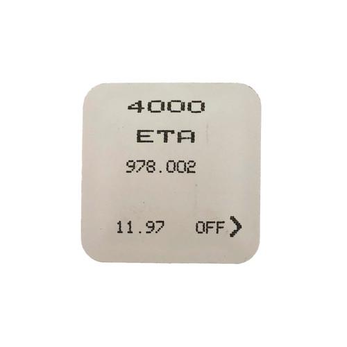 ETA 978.002 4000 Circuit Electronic Module Original  New Sealed