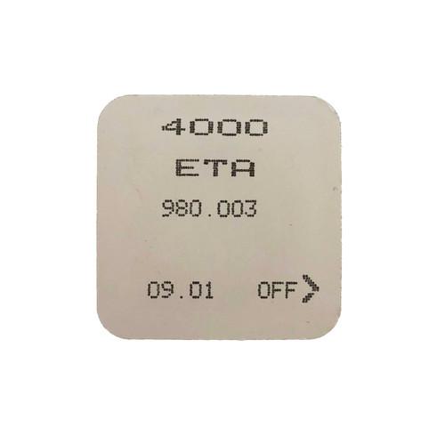 ETA 980.003 4000 Circuit Electronic Module Original  New Sealed