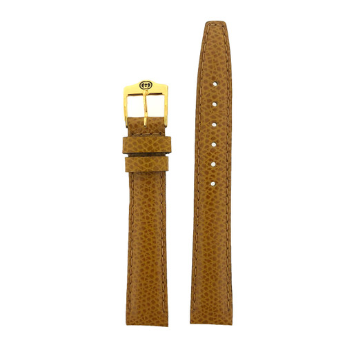 Gucci Watch Band 12mm Tan Genuine Lizard