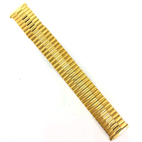 Watch Band Expansion Stretch Gold-Tone Mens | MET186