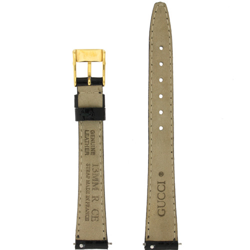 Gucci Watch Band 13mm Black models 2200L 3000L Long