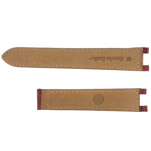Watch band Leather for Cartier Pasha Light Brown