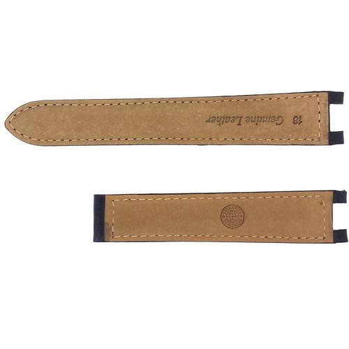 Watch band Leather for Cartier Pasha Black