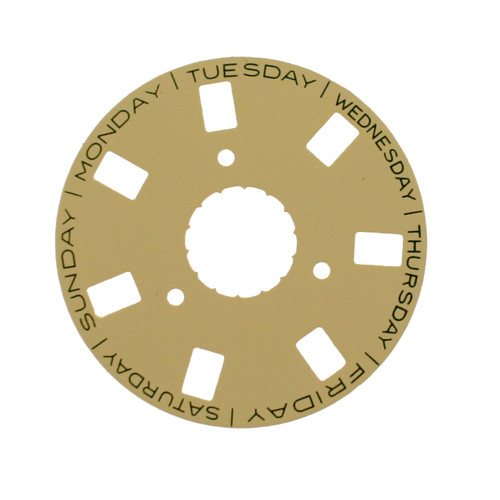 Day Dial Disc to Generic Rolex  3155 Champagne