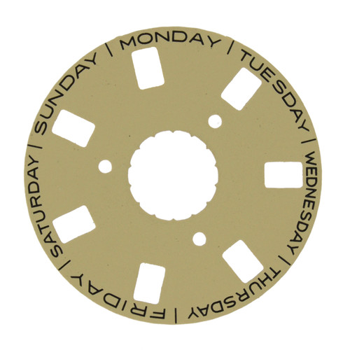 Aftermarket Day Dial Disc to Generic Rolex 3155 Champagne 118206 118238