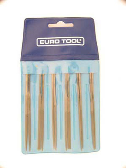 Watchmaker Mini Files Fine Cut - Set of 12 by Euro Tool -FIL990.00 - Main