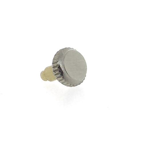 Aftermarket Crown to fit Rolex Bubble Back 5.5mm Crown Screw type Stainless Steel