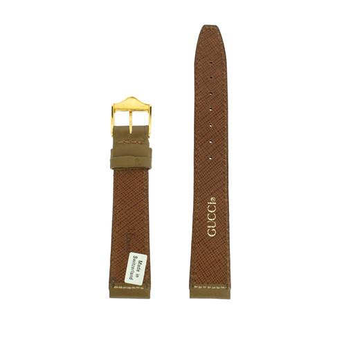 Gucci Watch Band 18mm Model Khaki