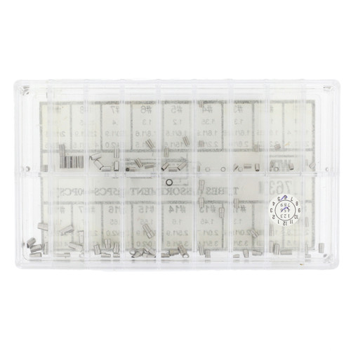 Watch Case Tube Assortment For Waterproof  Crowns 1.5 - 2.5 mm