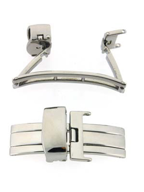 Stainless Steel deployment buckle -DEPLOYMENT BUCKLE 4 - Main