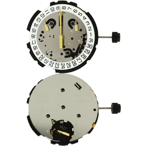 ETA G10.211 Chronograph Quartz Movement -MOVG10.211 - Main