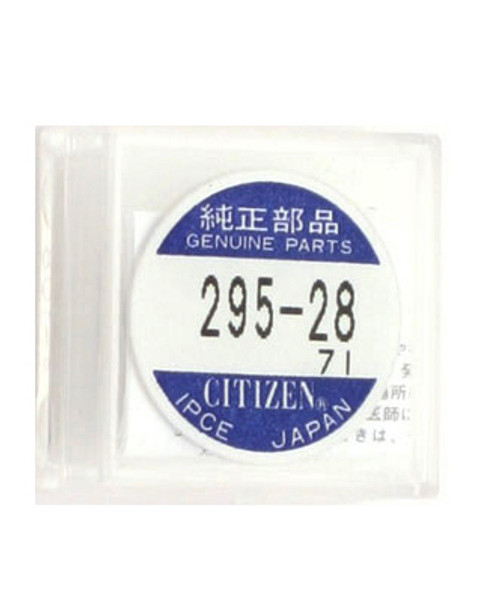 Citizen Eco-Drive Secondary Battery Capacitor - CIT295-28 - Main
