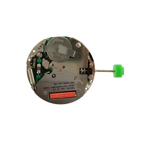 ISA 1198/42 Quartz Watch Movement - Rear