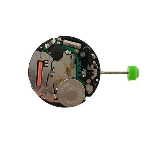 Quartz Watch Movement ISA 307 - Rear