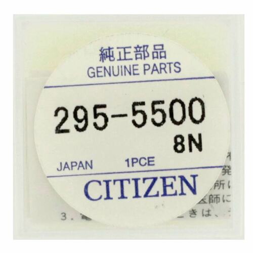 CITIZEN Eco-Drive Capacitor Secondary Battery For Citizen Movement Caliber Numbers A114A A119A A134A A139A A234A A239A | Watch Material Watchmaker Repair Parts