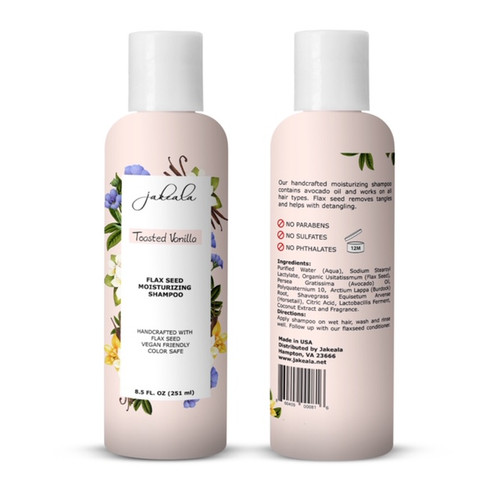 Flaxseed Gel Shampoo