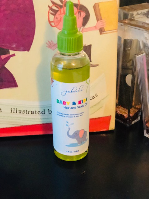 Baby Kids Hair Growth Oil