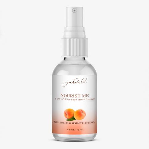 Apricot Body Hair Oil