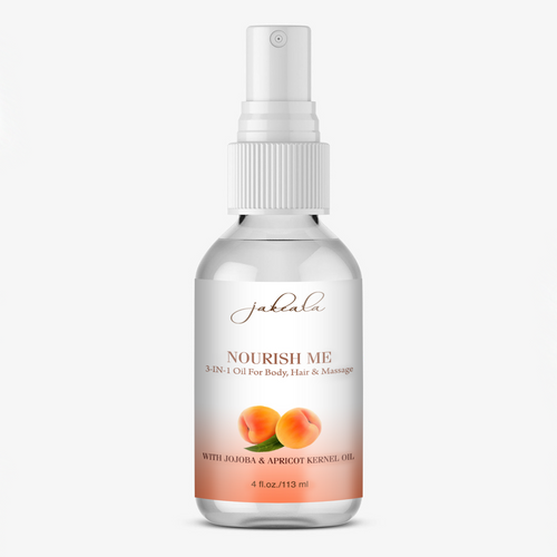 Apricot Body Hair Oil
