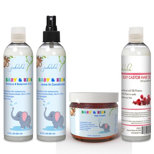 Kids Hair Product Set