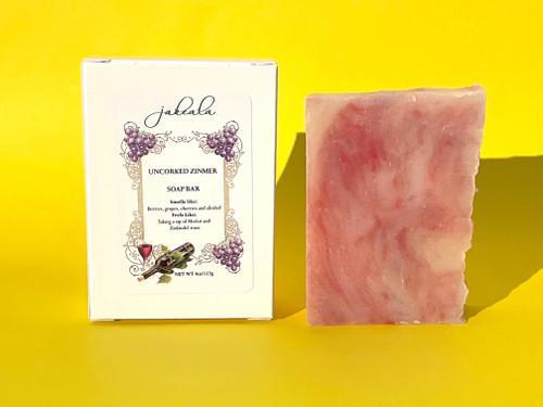 Merlot Zin Wine Soap Bar
