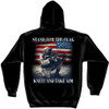 **(OFFICIALLY-LICENSED-U.S.MILITARY-COMBAT-VETERANS & PATRIOT-STAND-FOR-THE-FLAG/KNEEL-AND-TAKE-AIM,NICE-DETAILED-GRAPHIC-CUSTOM-GRAPHIC-PRINTED/PREMIUM-DOUBLE-SIDED-WARM-FLEECE-PULLOVER,SIDE-POCKET-HOODIES:)**
