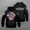 **(OFFICIAL-N.F.L.OAKLAND-RAIDERS-TEAM-PULLOVER-HOODIES/CUSTOM-3D-RAIDERS-OFFICIAL-LOGOS & OFFICIAL-CLASSIC-RAIDERS-TEAM-COLORS/DETAILED-3D-GRAPHIC-PRINTED-DOUBLE-SIDED-DESIGN/PREMIUM-N.F.L.RAIDERS & U.S.A.PATRIOTIC-FLAG-THEMED-PULLOVER-HOODIES)**