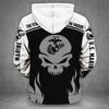 **(OFFICIAL-U.S.MARINE-VETERANS-PULLOVER-HOODIES/PUNISHER-SKULL & OFFICIAL-CLASSIC-MARINES-GLOBE & ANCHOR-EMBLEM/NICE-3D-CUSTOM-DETAILED-GRAPHIC-PRINTED/DOUBLE-SIDED-ALL-OVER-PRINTED-SLEEVE-DESIGNED/WARM-PREMIUM-PULLOVER-U.S.MARINES-HOODIES)**