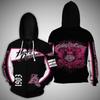 **(OFFICIAL-HARLEY-DAVIDSON-MOTORCYCLE-LADIES-ZIPPERED-HOODIES/LIVE-TO-RIDE-IN-OFFICIAL-CLASSIC-HARLEY-BLACK & PINK-COLORS & OFFICIAL-HARLEY-PINK-LOGOS/DETAILED-CUSTOM-3D-GRAPHIC-PRINTED-DOUBLE-SIDED-DESIGN/WARM-PREMIUM-HARLEY-WOMENS-RIDING-HOODIE)**