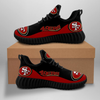 **(OFFICIAL-SAN-FRANCISCO-49ERS-TEAM-BLACK-FASHION-SPORT-SHOES/CUSTOM-DETAILED-3D-GRAPHIC-PRINTED-DOUBLE-SIDED-DESIGN/CLASSIC-OFFICIAL-CUSTOM-49ERS-LOGOS & CLASSIC-OFFICIAL-49ERS-BLACK & RED-TEAM-COLORS/TRENDY-PREMIUM-N.F.L.49ERS-TEAM-SPORT-SHOES)**