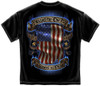 "**(NEW-OFFICIALLY-LICENSED,""I-STAND-FOR-THE-FLAG & KNEEL-TO-PRAY/WITH-PATRIOTIC-DRAPED-FLAG"",NICE-DETAILED-CUSTOM-GRAPHIC-PRINTED/PREMIUM-DOUBLE-SIDED-PATRIOTIC-TEES:)**"